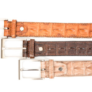 CROCODILE BELTS – SINGLE SCALE